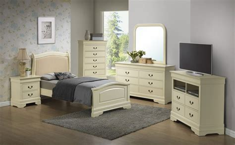 G3175 Youth Upholstered Headboard Bedroom Set Kids And