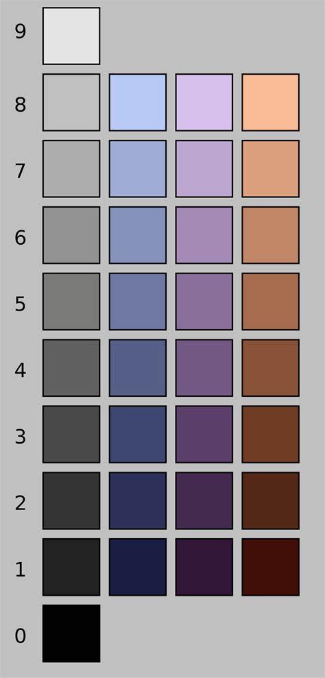 color values lightness
