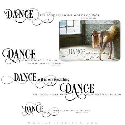 inspirational word art quotes  dance ashedesign