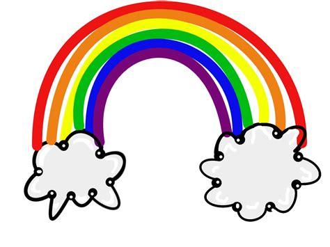 Clipart Rainbow Rainbow Clipart Pencil And In Color Rainbow