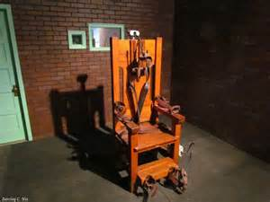 Chaise Electrique by Capital Punishment In Perspective 183 Guardian Liberty Voice