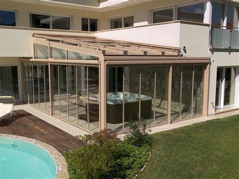 veranda prefabbricata veranda in alluminio e vetro veranda frubau