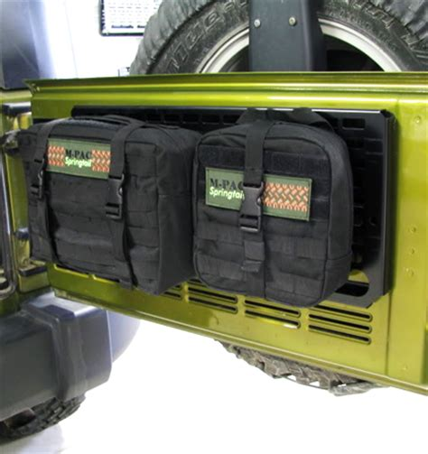jeep tailgate storage ideas for off road on pinterest