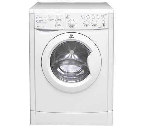 Buy Indesit Iwdc 6125 Washer Dryer  White  Free Delivery