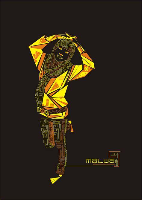Digital Graphic Composition Mindyz