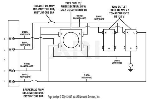 Homelite Wiring Diagram by Homelite Ps905055s Powerstroke 5 000 Watt Generator Parts