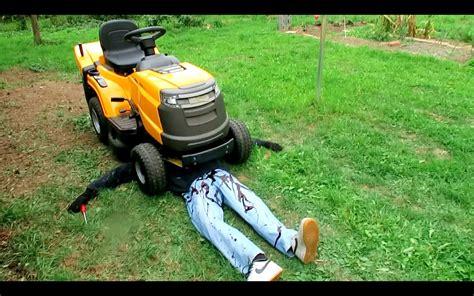 Killed By Lawn Mower Prank
