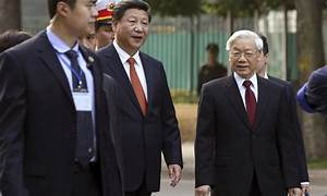 Chinese president visits Vietnam to discuss stronger ties ...