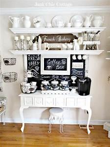 Junk Chic Cottage: * New Chalkboard * New Coffee Bar