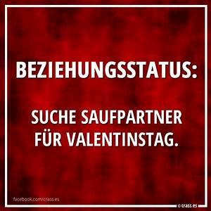 Valentinstag Lustige Bilder : beziehungsstatus suche saufpartner f r valentinstag facebook spruchbilder lustige witzige ~ Frokenaadalensverden.com Haus und Dekorationen
