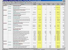 Project Management Spreadsheet Template Project Management