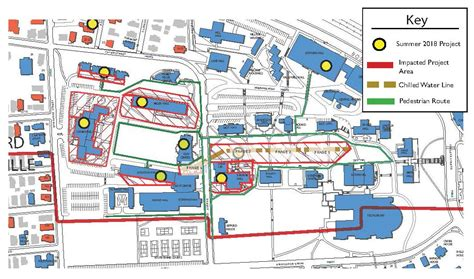 Tufts Medford Campus Map.University Tufts Medford Somerville Campus Map