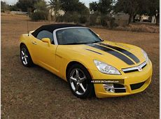 2008 Saturn Sky Base Convertible 2 Door 2 4l Yellow W