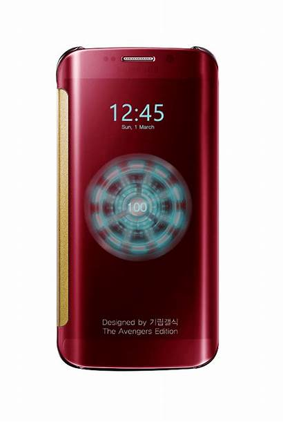 S6 Galaxy Samsung Iron Edge Avengers Edition