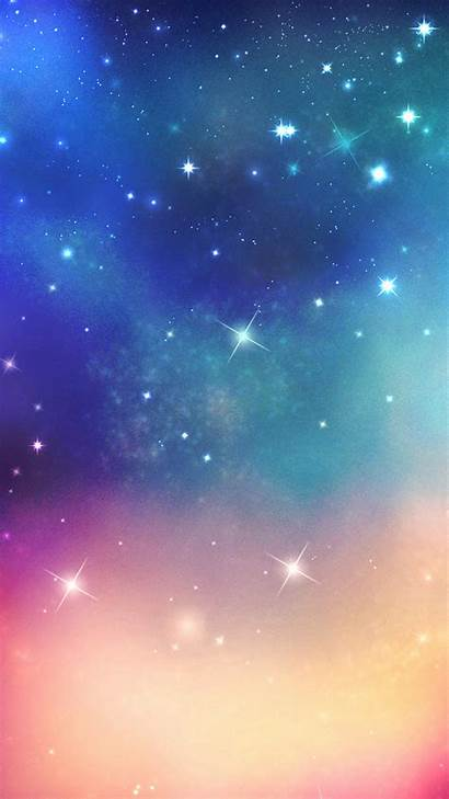 Smartphone Shiny Wallpapers Space Fantasy Iphone Ouer