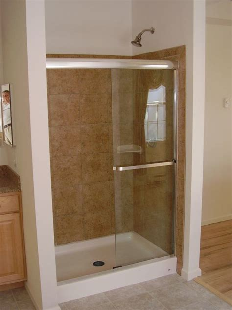 Glass Door For Fiberglass Shower by Tubs Showers Modular Homes By Manorwood Homes An