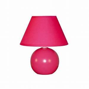 Petite Lampe De Chevet : lampe de chevet framboise achat petite lampe chevet ~ Teatrodelosmanantiales.com Idées de Décoration