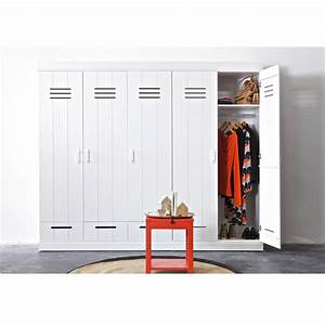 Armoire Vestiaire 3 Portes 3 Tiroirs Connect By Drawer