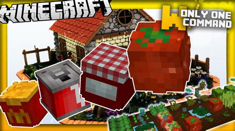 mod鑞es cuisine minecraft more food mod in vanilla minecraft 1 9 in two commands 10 edible recipes