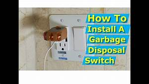 Garbage Disposal Switch Location Code
