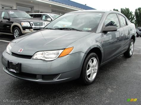 Storm Gray 2007 Saturn Ion 2 Quad Coupe Exterior Photo