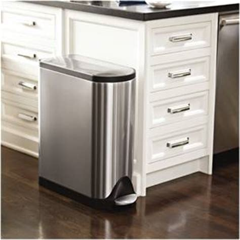 guide  stainless steel kitchen step trash cans