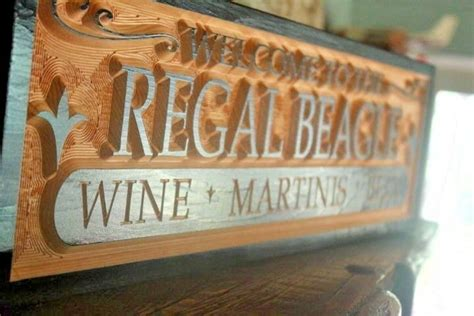 personalized pub signs custom home bar decor beer man cave