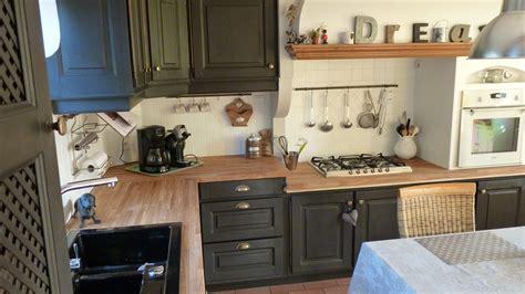 il cuisine cuisine équipée rustique chene