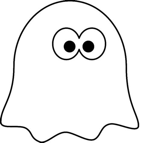 Free Pacman Pumpkin Stencils by Little Ghost Coloring Pages Ghost Cartoon Cartoon