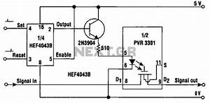 relay circuit automation circuits nextgr With latch relay circuit
