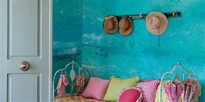 Wand Streichen Schwammtechnik : streichen mit blau w nde streichen ideen mit wandfarbe hellblau freshouse ~ Markanthonyermac.com Haus und Dekorationen