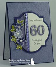60th Birthday Card Ideas