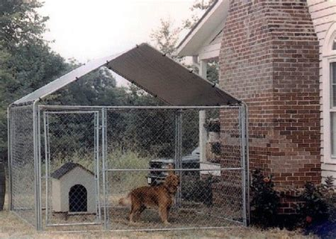 dog house kennel cage cover shade shelter outdoor  pet canopy    steel kennel cover