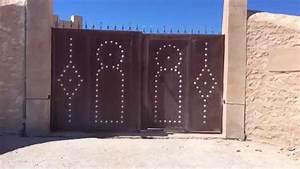 Depannage Portail Automatique Nice : portail automatique avec kit toona 4 nice enrico essaouira 2 youtube ~ Nature-et-papiers.com Idées de Décoration