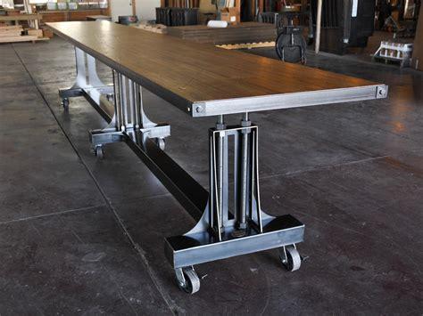 bar stool industrial post industrial table base vintage industrial furniture