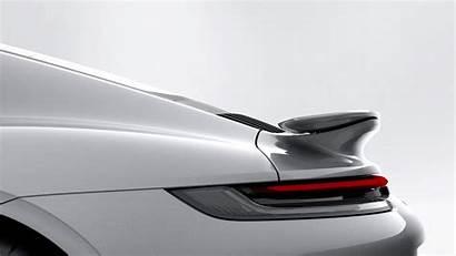 Rear Porsche 911 Active Wing Turbo Aerodynamics