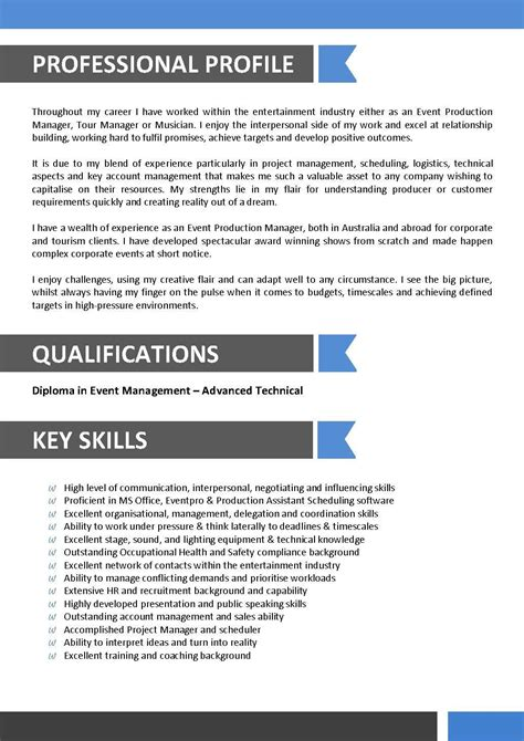 Resume Format For Aviation Industry by Sle Resume For Entertainment Industry Sle Resume For