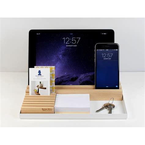 organiseur de bureau en bois organiseur de bureau au design épuré en bois busy amobois