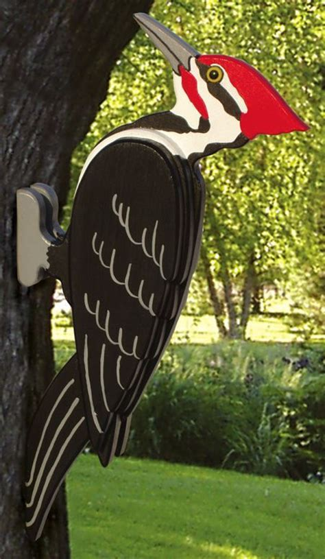 pileated woodpecker woodworking plan dyatly