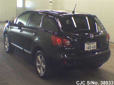 nissan dualis 2009 2009 nissan dualis black for sale stock no 38933