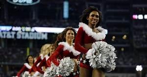 NFL cheerleaders show off their team spirit in Week 15 ...