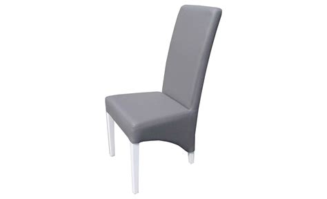 chaise simili cuir gris cuisine battement chaises salle à manger chaises salle à