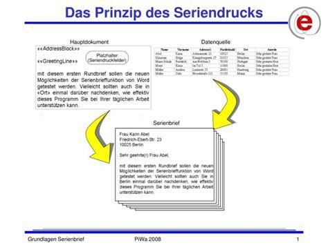 PPT - Das Prinzip des Seriendrucks PowerPoint Presentation - ID:5293319