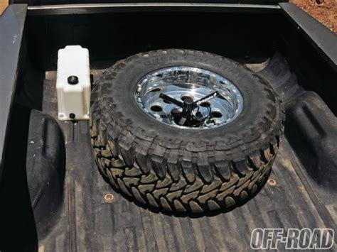 Tiregate Bed Mount Tire Holder