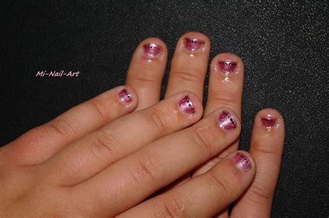 Déco sur ongles rongés, ben oui c'est possible! - Mi-Nail-Art