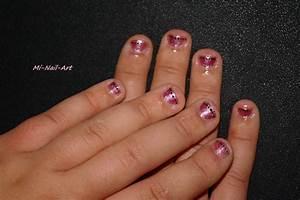 Ongle En Gel Court : d co sur ongles rong s ben oui c 39 est possible mi nail art ~ Melissatoandfro.com Idées de Décoration