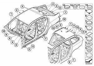 2003 Bmw M5 Blind Plug  D 40mm  Alpina  Body