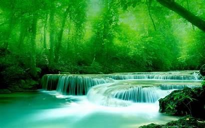 Greenery Wallpapers Water 3d Widescreen River Rocks