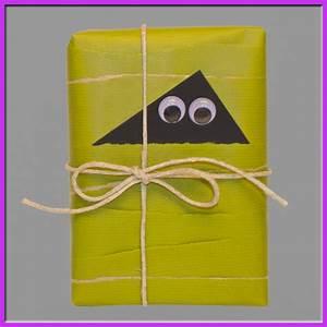Geschenke Verpacken Lustig : geschenkverpackungsideen diy bastelidee geschenkverpackung als kleiner geist basteln ~ Frokenaadalensverden.com Haus und Dekorationen