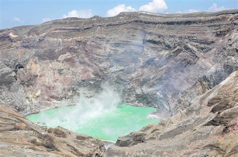 Pvc Boden Giftige Dämpfe by 41 Vulkan Mt Aso Am Krater Des Nakadake Anders Reisen